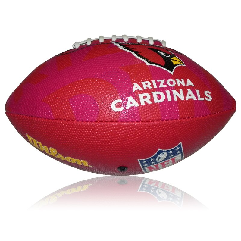 Wilson NFL Junior Arizona Cardinals Logo Football