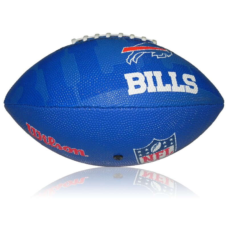 Wilson NFL Junior Buffalo Bills Logo Football