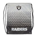 NFL Las Vegas Raiders Fade Gym Bag, Turnbeutel