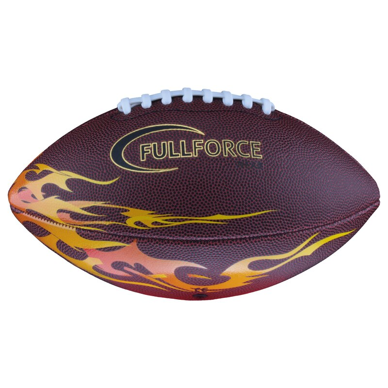 Full Force American Football Senior Freizeit- und Trainingsball FLAMME