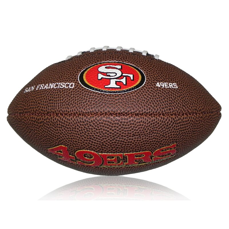 Wilson NFL Mini San Francisco 49ers Logo Football