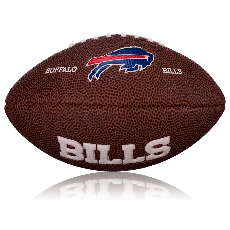 Wilson NFL Mini Buffalo Bills Logo Football