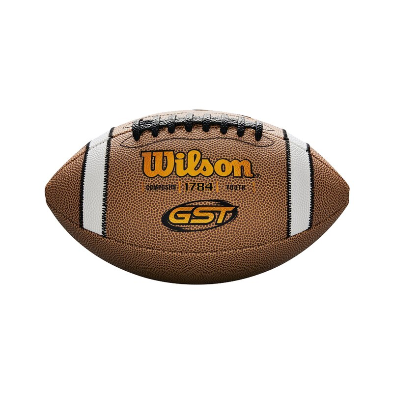 Wilson GST 1784 TDY Composite Football, braun, Youth