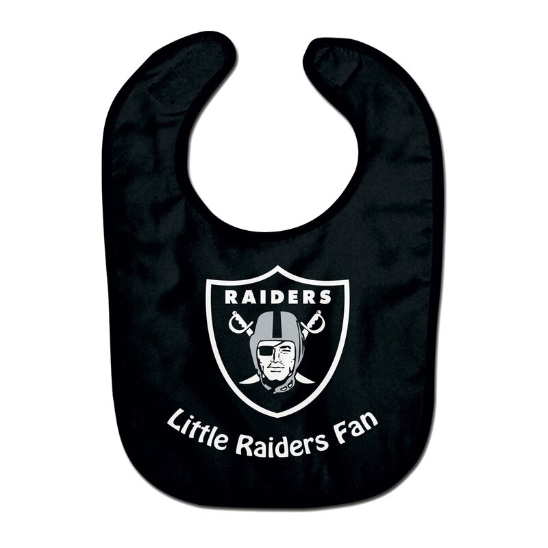 NFL Las Vegas Raiders Team Color All Pro Little Fan Baby Lätzchen