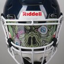 Prostyle Eyeshield Facemask Sticker Motiv Zombie