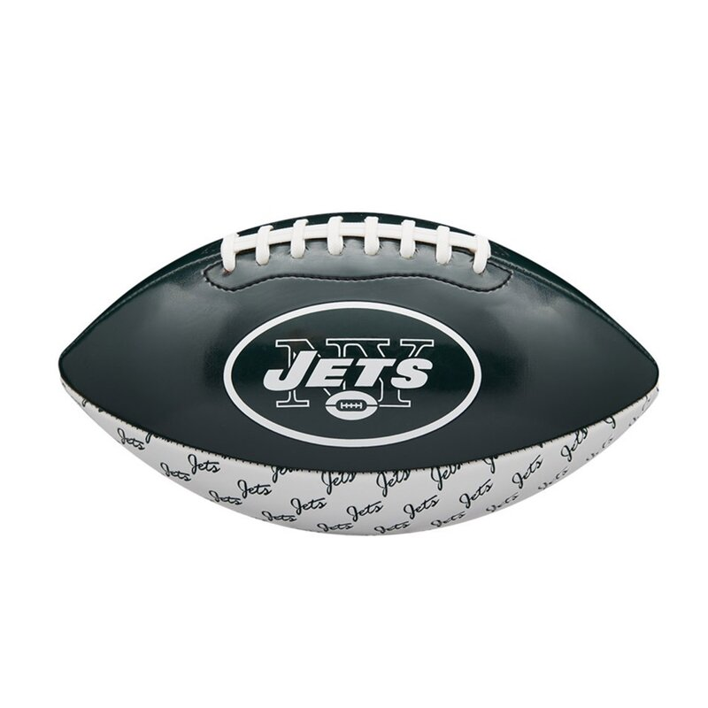 Wilson NFL Peewee Football Team Logo New York Jets